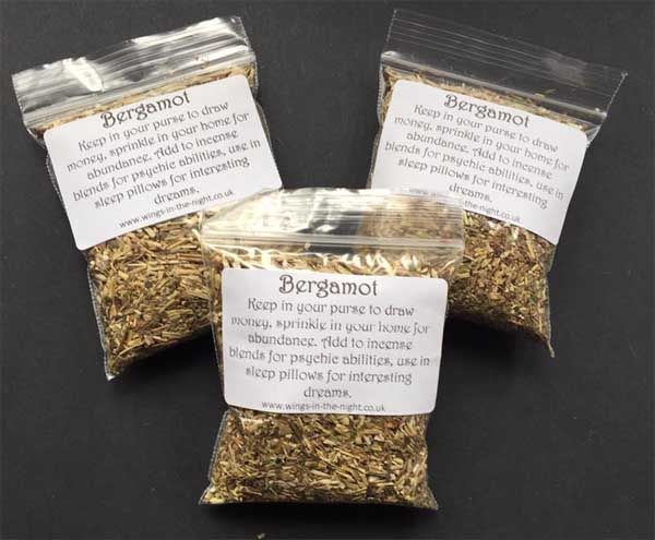 BERGAMOT Dried Magical Herb