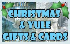 Gothic and Pagan Christmas, Xmas and Yule Gifts, Presents, cards, stocking fillers