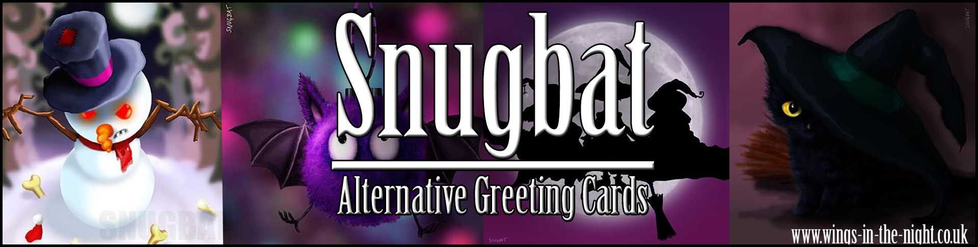 Snugbat Gothic Greeting Cards