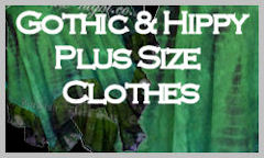 Ladies Gothic Clothing Plus Sized